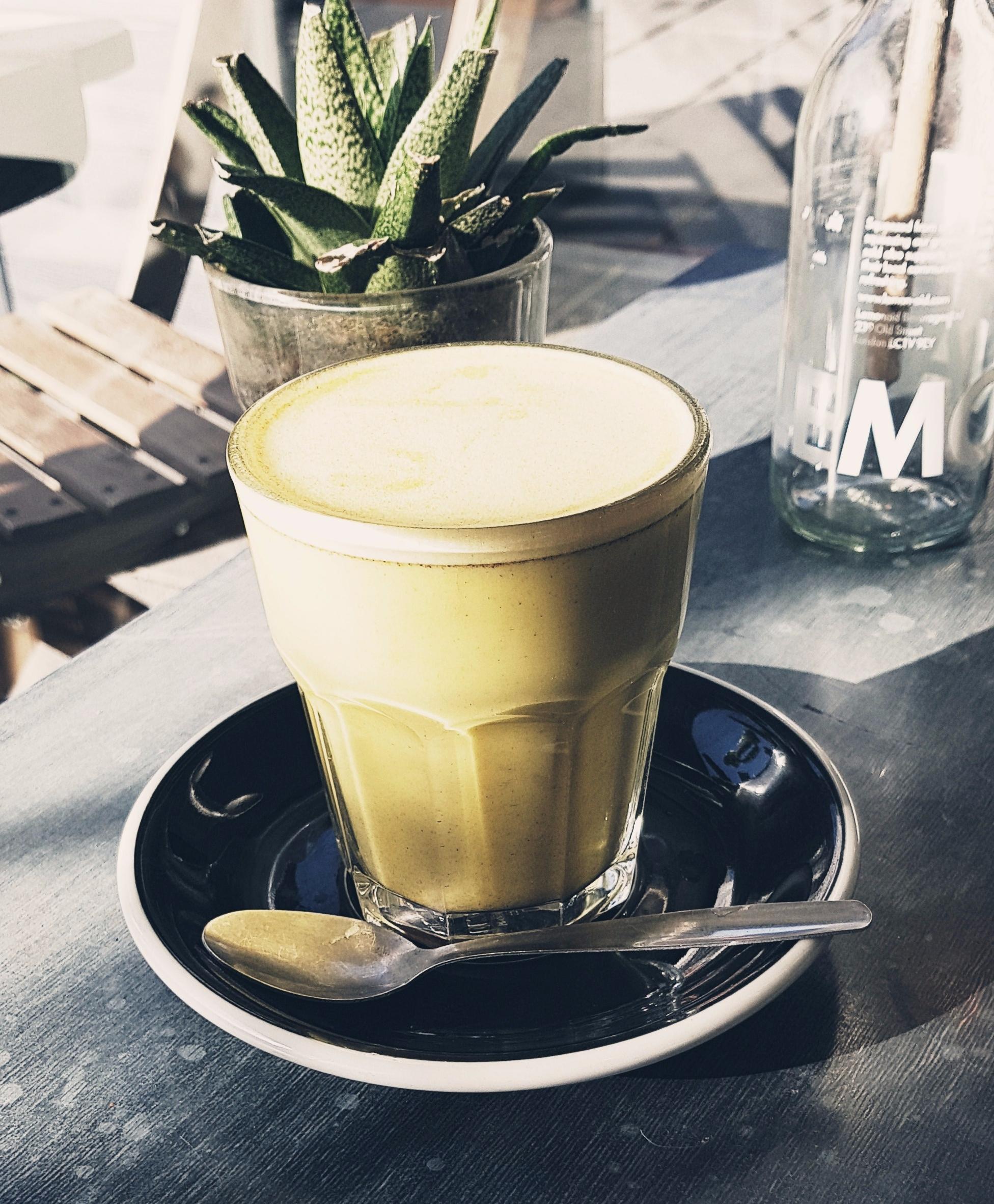 tumeric latte rawberry cafe winchester